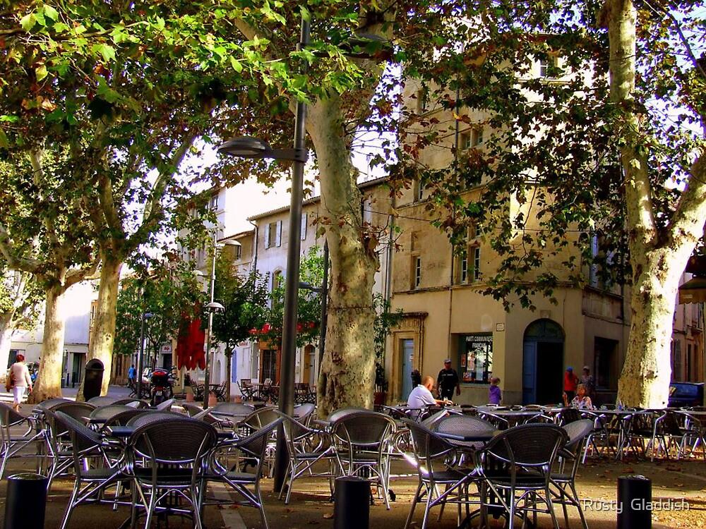 La fin de l'ete  (Arles) Provence by Rusty  Gladdish