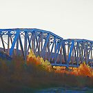 Railroad Bridge in Afton Canyon by HeavenOnEarth