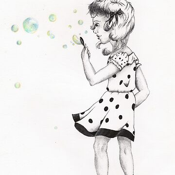 Girl with Bubbles by Stymie
