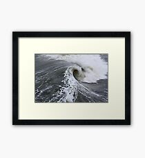 Wave Power Framed Print