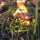 LEGO Cave Woman  by ArtShopEtc