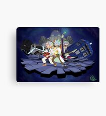 Rick and the Time Lords Canvas Print