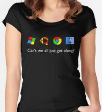 Get Along Women's Fitted Scoop T-Shirt