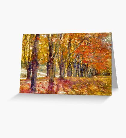 Maple Lane  Greeting Card