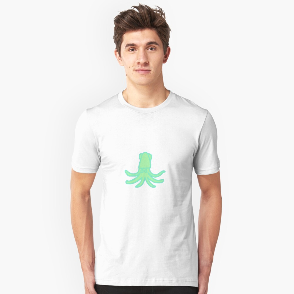 Squid Kawaii Unisex T-Shirt Front