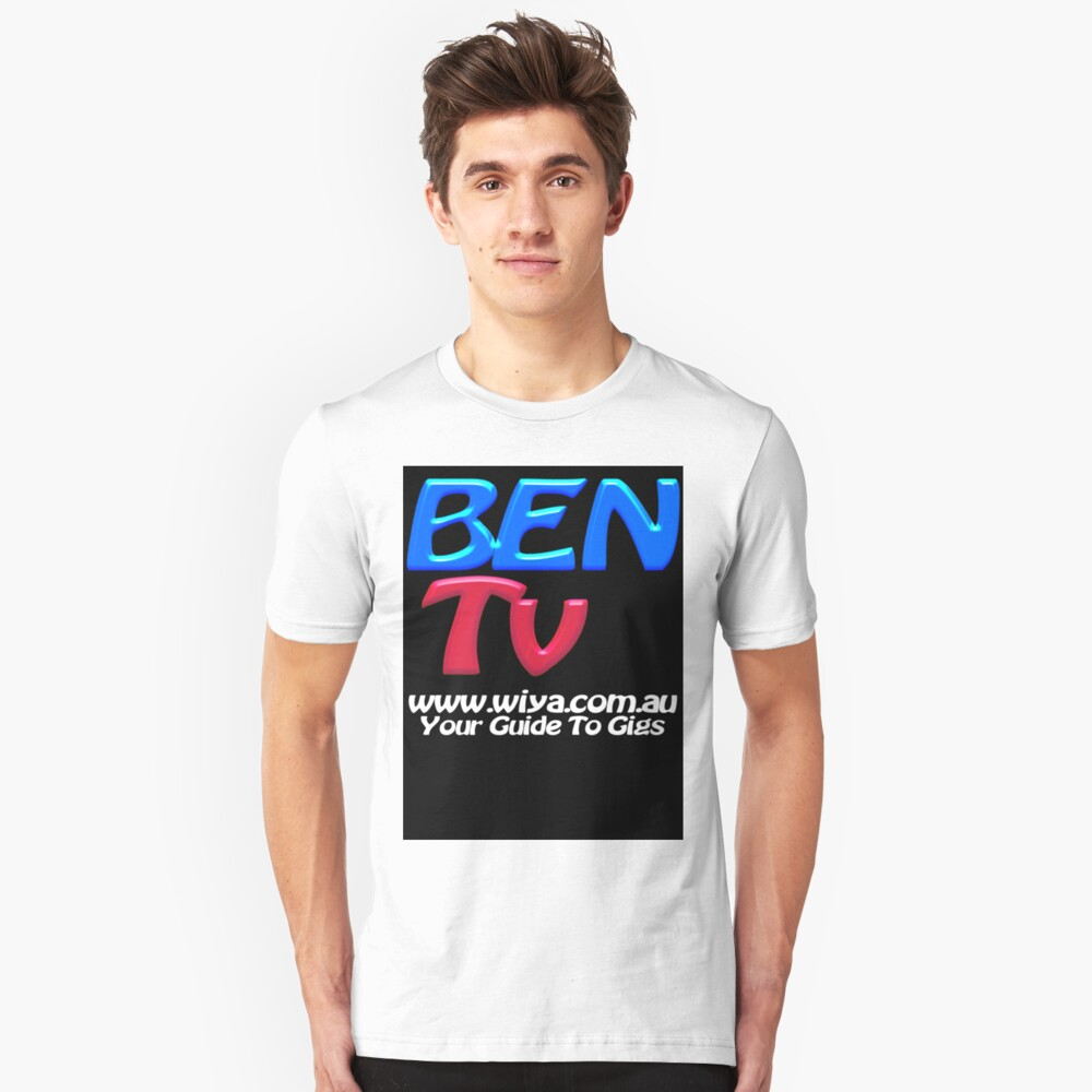 "BEN Tv ""Official Merchandise"" Unisex T-Shirt Front"