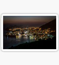 Dubrovnik at night Sticker