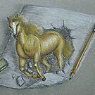 Stallion by thuraya arts