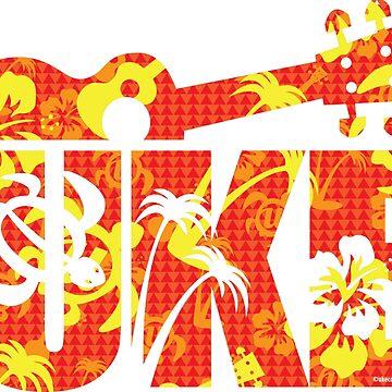 The Uke Hawaii Red by ukecompany