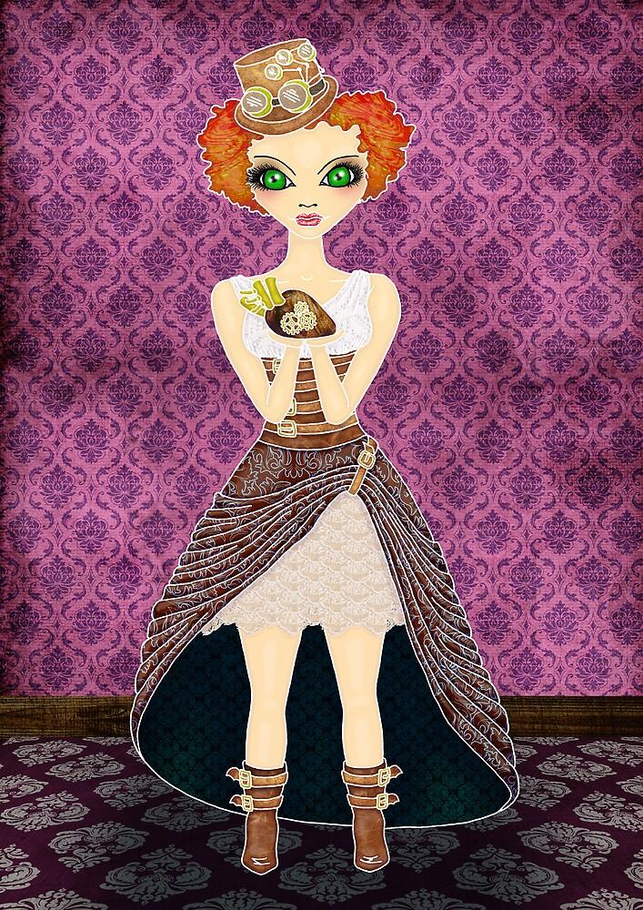 Steampunk Annie by Monique Stute
