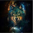 Galaxy Wolf by Keelin  Small
