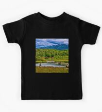 Alaska Potter Marsh Boadwalk Kids Tee