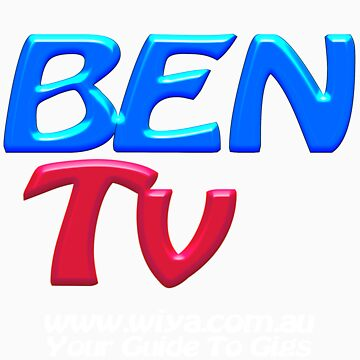 "BEN Tv ""Official Merchandise"" Transparent by BenTv"