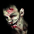 Stitchface self portrait 3 by David Knight