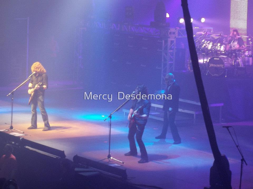 Megadeth - Gigantour 2012 by Mercy  Desdemona