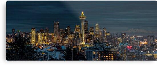 Seattle Evening by Steve Walser