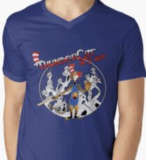 Thundercat in a Hat! Men's V-Neck T-Shirt
