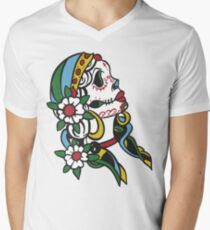 Gypsy With Sugar On Top Men's V-Neck T-Shirt
