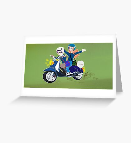 Scooter Joy Greeting Card