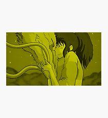 Haku and Chihiro - Spirited Away Photographic Print