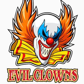 Evil Clowns by mjmew
