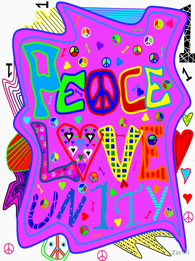 Peace, Love and Unity by Zac44