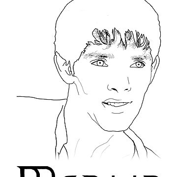 Merlin Stencil  by carrieclarke