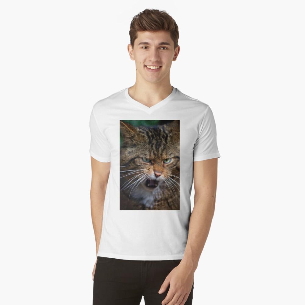 Scottish Wildcat, less than 400 remain... V-Neck T-Shirt