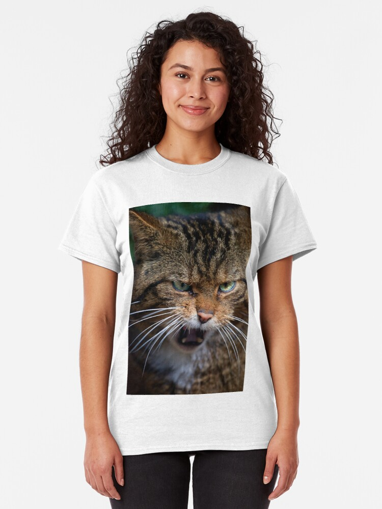 Alternate view of Scottish Wildcat, less than 400 remain... Classic T-Shirt