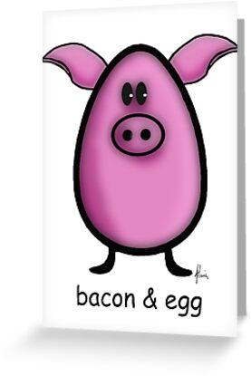 bacon & egg by Mariette (flowie) van den Heever