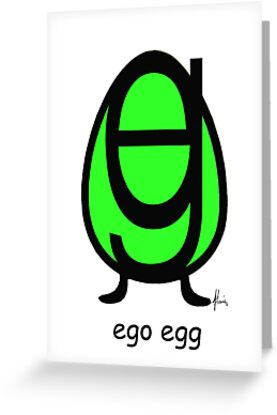 ego egg by Mariette (flowie) van den Heever
