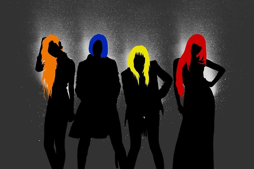 2NE1 Group by supalurve