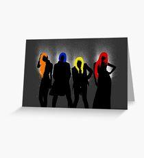 2NE1 Group Greeting Card