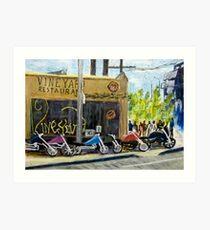 Vineyard Restaurant 2 Art Print
