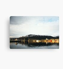 Tromsø Bridge, Norway Canvas Print