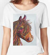 A Stick Horse Named Amber Women's Relaxed Fit T-Shirt