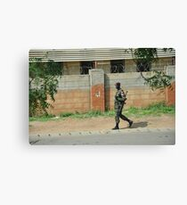 South Sudan Independence Day2 Canvas Print