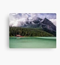 Majesty at the Lake - Banff National Park Canvas Print