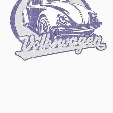 Volkswagen Beetle Tee Shirt by KombiNation