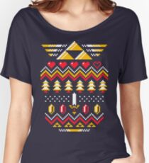 TRIFORCE HOLIDAY Women's Relaxed Fit T-Shirt