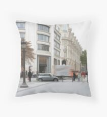 Streetscape Throw Pillow