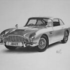 Aston Martin DB5 by Mike O'Connell