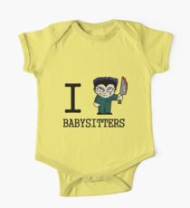 I Micheal Babysitters One Piece - Short Sleeve