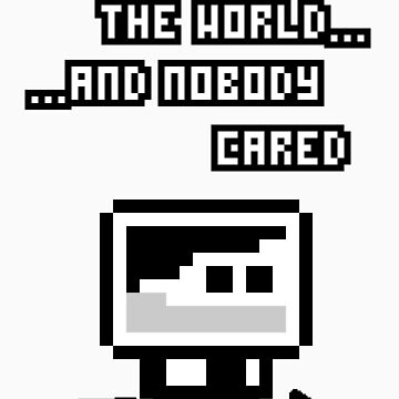 I saved the world by orangepixel