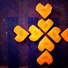 Coptic Carrot Cross by LouJay