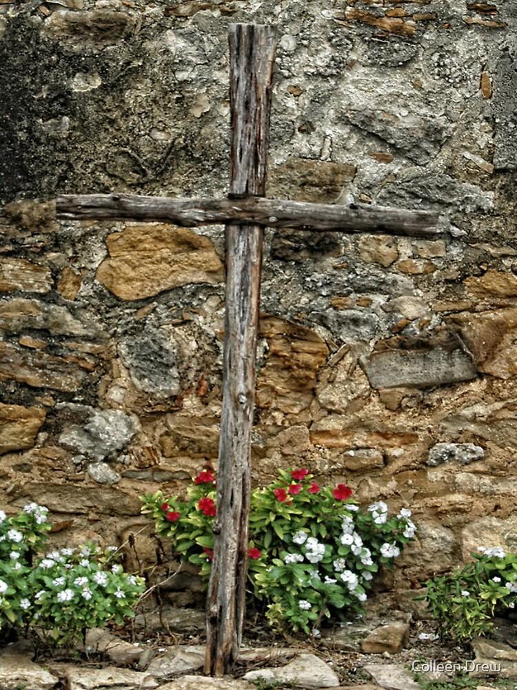 Wooden Cross by colgdrew