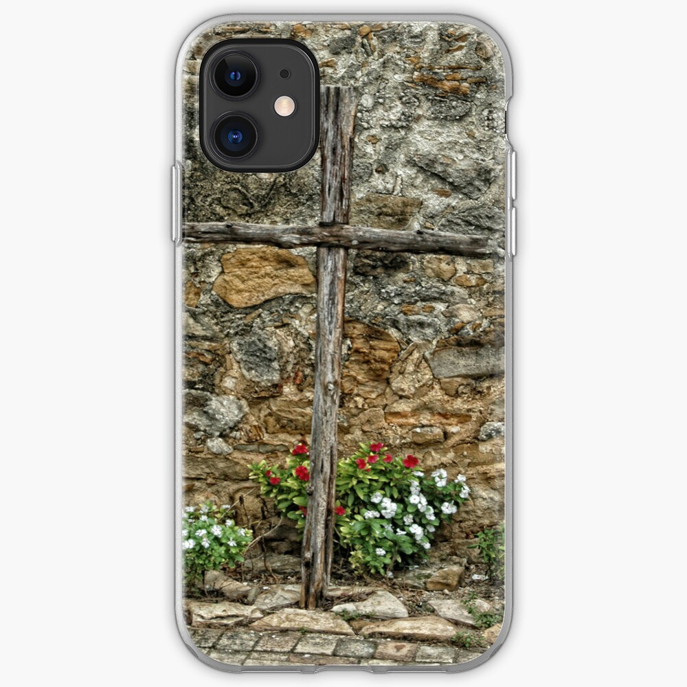 Wooden Cross iPhone Case & Cover