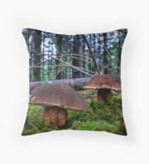 Dinner Is On The Table Throw Pillow