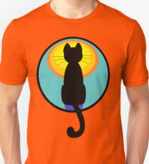 Sunrise Sunset Cat Unisex T-Shirt
