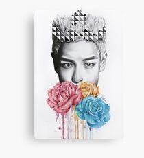 Triad Print - TOP Canvas Print